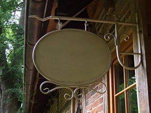 Antikas Enseigne Lumineuse de forme ovale avec support pour la mural style ancien–rótulos Affiches de Publicité pour magasin bar restaurant de la marque Antikas image 0 produit