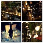 AOOKEY LED Guirlande Lumineuse 10M 80 Ampoules LED à Piles Petites Boules Blanc Chaud Décoration Romantique de la marque AOOKEY image 3 produit
