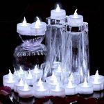 Aookey Lot de 24 Bougies LED à Pile Bougies à LED Fausses Bougies électriques pour Votive Anniversaire Mariage fête Noël de la marque Cookey image 4 produit