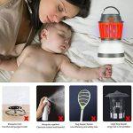 Apark Moustiquaire électrique Anti-moustiques UV Anti-moustiques et Anti-moustiques Anti-UV pour 40m2, pour l'intérieur et l'extérieur Orange de la marque Apark image 2 produit