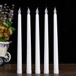 Ardux 27,9cm LED sans flamme Bougies coniques, avec piles pour Home Table fête mariage anniversaire (lot de 6) de la marque ARDUX image 2 produit