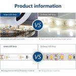 Auralum® 5M Blanc Chaud SMD 3528 300 Leds 12V 24W 1200LM IP65 Etanche Flexible LED Strip Bande de la marque AuraLum image 3 produit