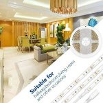 Auralum® 5M Blanc Chaud SMD 3528 300 Leds 12V 24W 1200LM IP65 Etanche Flexible LED Strip Bande de la marque AuraLum image 4 produit