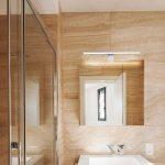 B.K. Licht lumière LED miroir, applique salle de bains, lumière de maquillage, luminaire salle de bains, blanc neutre, 8W, 230V, IP44, largeur 600mm de la marque B.K.Licht image 2 produit