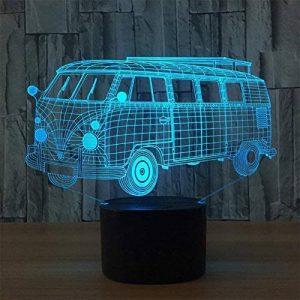 baby QLED 3D Lampe, Lumière créative de nuit, cadeau léger d'atmosphère de cadeau d'USB, lumières stéréo de vision de la marque baby Q image 0 produit