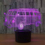 baby QLED 3D Lampe, Lumière créative de nuit, cadeau léger d'atmosphère de cadeau d'USB, lumières stéréo de vision de la marque baby Q image 1 produit