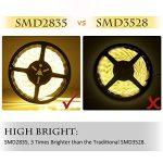 Bande Lumineuse LED,Ruban LED, Blanc Chaud,300LEDs,5M et Transformateur 12V 5A. de la marque LEDMO image 1 produit