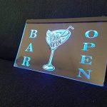 Bar OPEN lumineux Enseigne Panneau neuf LED chargement Publicité Fluo Neon Bar Pub Bar Disco Cocktails de la marque Zhengdian Electronic image 2 produit