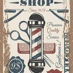Barber enseigne de boutique, signal métallique, Barber MAGASIN signes, Moderne Style, Barber magasin, 973 de la marque The Metal Sign Shack image 4 produit