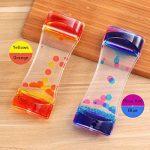 BESTONZON 2 Pack Sablier Liquide/Huile Sablier Liquid-sabliers colorés à bulles Timer, Coloré Huile Sablier Desk Decor Cadeau d'anniversaire Jouet pour enfants de la marque BESTONZON image 2 produit