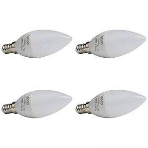 Biard - Pack de 4 Ampoules Flammes LED E14 5W - Blanc Froid de la marque Biard image 0 produit