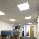 Biard Plafonnier LED - Dalle Lumineuse 60x60cm - Cadre Gris - Panneau Basse Consommation 40W - Blanc Naturel de la marque Biard image 1 produit