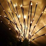Bloomwin Eclairage spécial, 3pcs 1.2W 20LED 70CM Lumineux de Branche avec Batterie Guirlande lumineuse LED Arbre Décoration de Maison Murale Porte Noël Mariage Blanc Chaud de la marque Bloomwin image 3 produit