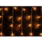Blue Oceans 216LED 5M Glace Pluie/Stalactite Guirlande lumineuse décoration de Noël lumières de Noël Décoration Fairy Christmas intérieur et extérieur (Blanc chaud–5m) de la marque BUOCEANS image 3 produit