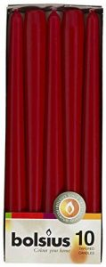 Bolsius bougie Dîner 103600352244, cire de paraffine, vin rouge de la marque Bolsius image 0 produit