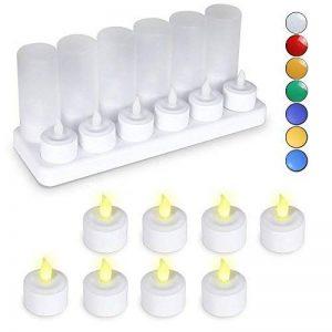 bougie electrique rechargeable TOP 12 image 0 produit
