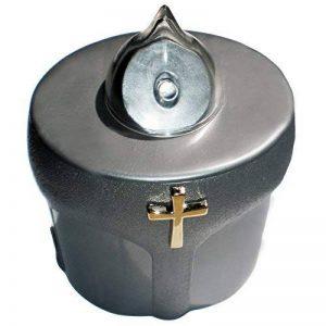 Bougie électrique chrétienne - Chandelle à pile avec petite croix de la marque Vestina image 0 produit