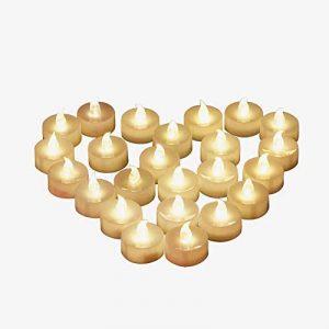 Bougie à LED, Dreamiracle Chauffe-plats Sans Flamme Vacillante Fausses Bougie Electrique a Pile Mariage Décorative (Lot de 24) de la marque Dreamiracle image 0 produit