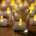 Bougie à LED, Dreamiracle Chauffe-plats Sans Flamme Vacillante Fausses Bougie Electrique a Pile Mariage Décorative (Lot de 24) de la marque Dreamiracle image 4 produit