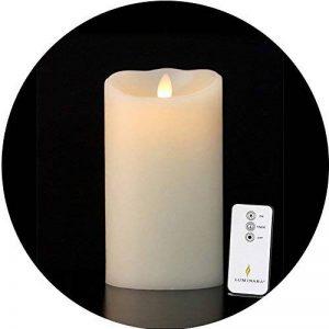 Bougie LED en Cire 18 x 10 cm - 500h de la marque Luminara image 0 produit