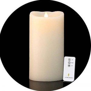 Bougie LED en Cire 23 x 10 cm - 500h de la marque Luminara image 0 produit