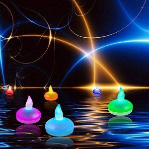 bougie led flottante TOP 6 image 0 produit