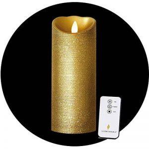 Bougie LED Or 23 x 8 cm de la marque Luminara image 0 produit