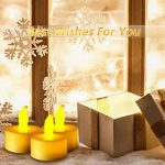 Bougie à LED , Ubegood Lot de 24 Lumières Bougies à LED Fausses Bougies électriques LED Flamme pour Mariage Fête Anniversaire Cadeau Soirée, Maison de la marque UBEGOOD image 4 produit