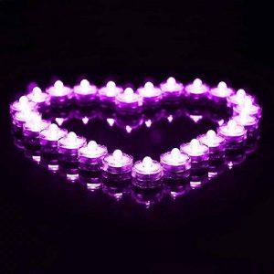 bougie led violet TOP 4 image 0 produit