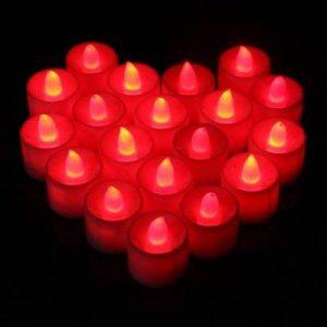 bougie rouge led TOP 14 image 0 produit
