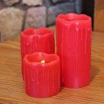 bougie rouge led TOP 2 image 2 produit