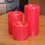 bougie rouge led TOP 2 image 3 produit