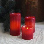 bougie rouge led TOP 3 image 2 produit