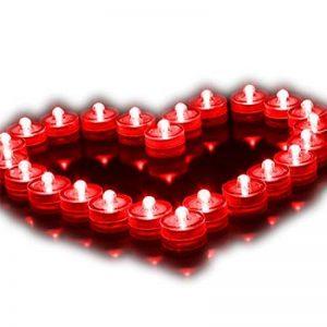 bougie rouge led TOP 6 image 0 produit
