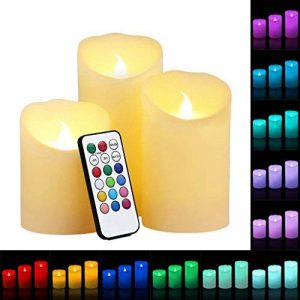 bougies electriques en cire TOP 10 image 0 produit