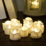 Bougies LED avec minuterie, PChero Lot de 12 bougies LED Piles pchero, 6 heures on et 18 heures Off de la marque PChero image 3 produit