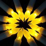 Bougies à LED -Longue Bougies de Chandelier - Ensemble de 12 Bougies sans Flammes Puissance de la AA Batterie Bougies Jaune LED Candle Lights de la marque Daxstar image 2 produit
