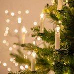 Bougies LED lumineuses avec télécommande, 20 belles bougies pour toutes les occasions spéciales by CASCACAVELLE de la marque Cascacavelle image 2 produit
