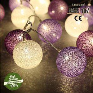 boule de coton lumineuse TOP 8 image 0 produit