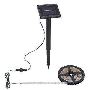 Briloner Leuchten extérieur bande LED 3m avec panneau solaire, IP65, plastique, noir, 300x 9,5x 33cm de la marque Briloner Leuchten image 0 produit