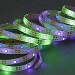 Briloner Leuchten extérieur bande LED 3m avec panneau solaire, IP65, plastique, noir, 300x 9,5x 33cm de la marque Briloner Leuchten image 1 produit