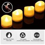 chandelle led flamme vacillante TOP 9 image 3 produit