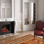 Chemin'Arte 117 Foyer effet flammes + chauffage 2000 W Noir de la marque Chemin'Arte image 2 produit