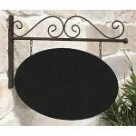 chemin_de_campagne Enseigne Plaque Style Plaque Métal Ardoise de Porte Portail Mural en Fer de la marque image 1 produit