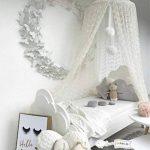 Ciel de lit Moustiquaire en coton pour petite Princesse anti-moustique Berceau Dôme château Tente de jeu en Suspension Décoration De Maison Hauteur de 240cm/94.9 pouces (rose) de la marque ledun image 4 produit