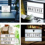 CinémaBoite à lumière A6 Box cinématique avec 90 lettres Combinaison gratuite pour mariage, Home, Photoshoots, Fête d'anniversaire de la marque Mirah June image 3 produit