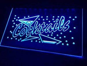 Cocktails Neon enseigne LED Neuf Publicité Publicité de la marque Zhengdian Electronic image 0 produit