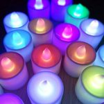 Contever® Lot de 24 Pcs Bougies LED à piles -- RGB qui change de couleur Rapidement de la marque Contever image 1 produit