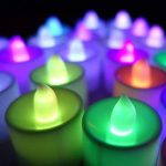 Contever® Lot de 24 Pcs Bougies LED à piles -- RGB qui change de couleur Rapidement de la marque Contever image 4 produit