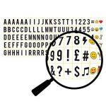 Cosi Home™ - Boîte cinématique lumineuse format A3 avec 100 lettres, émoticônes, smileys et symboles - personnalisez votre message - Piles et alimentation USB de la marque The-Body-Source image 3 produit